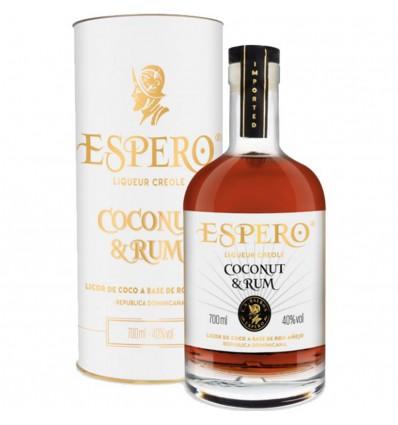 Espero Coconut & Rum 0,7l 40% (Tuba)