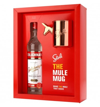 Stolichnaya Vodka Mule Mug 0,7l 40%