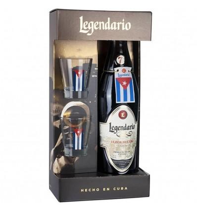 Legendario Elixir 7y 0,7l 34% + 2 skleničky