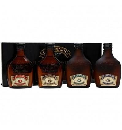 Centenario rum degustační sada 5y, 7y, 9y, 12y 4×0,2l