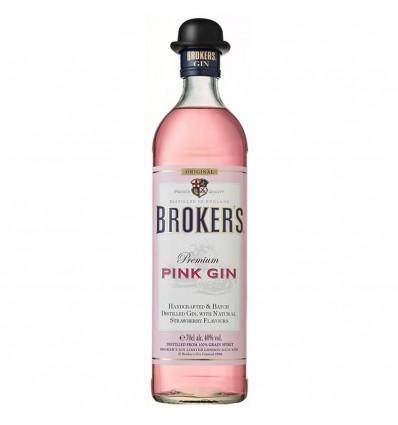 Broker's Pink Gin 0,7l 40%