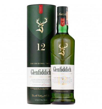 Glenfiddich 12y Whisky 0,7l 40%