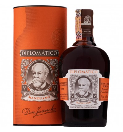 Diplomatico Mantuano Rum 0,7l 40% Tuba
