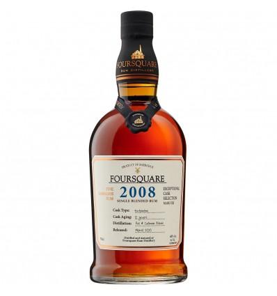 Foursquare 2008 12y Rum 0,7l 60%