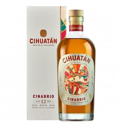 Cihuatán Cinabrio 12y Rum 0,7l 40%