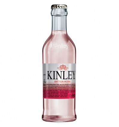 Kinley Tonic Bitter Rose sklo 0,25l