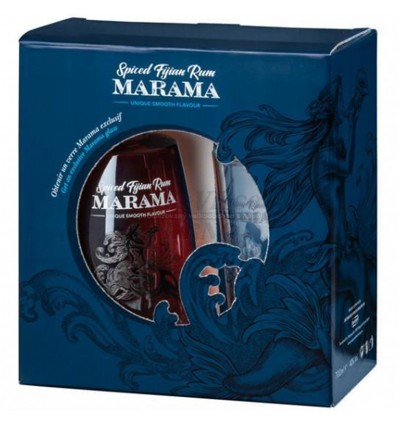 Marama Fijian Spiced Rum 0,7l 40% + sklenička