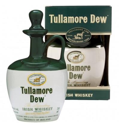 Tullamore Dew Whiskey 0,7l 40% (Keramický džbánek)