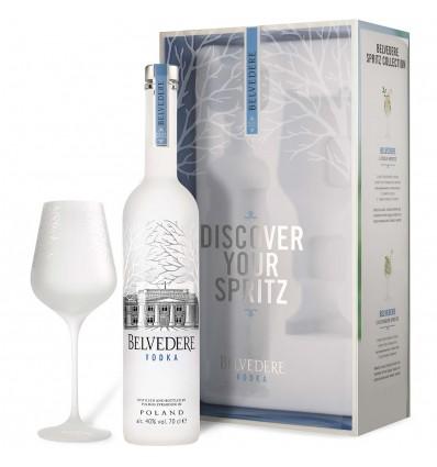 Belvedere Spritz Vodka 0,7l 40% + sklenička
