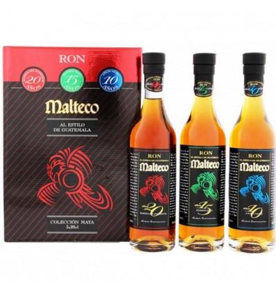 Malteco degustační rumový set 10y, 15y, 20y 3x0,2l