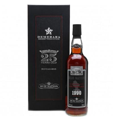 Nation Demerara Rum 1990 25y 0,7l 45%