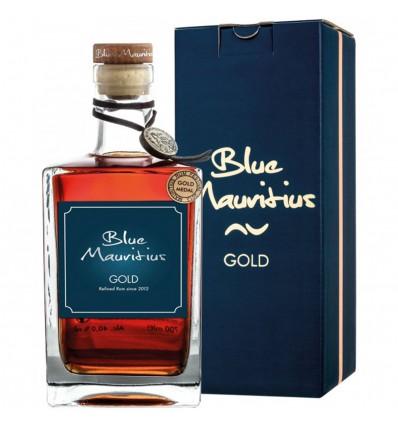 Blue Mauritius Gold Rum 0,7l 40% + Dárková Krabička