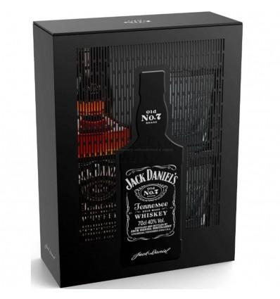 Jack Daniels Whiskey 0,7l 40% Plech + 2 skleničky