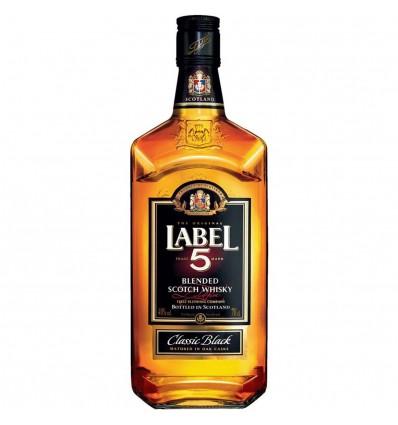Label 5 Whisky 0,7l 40%