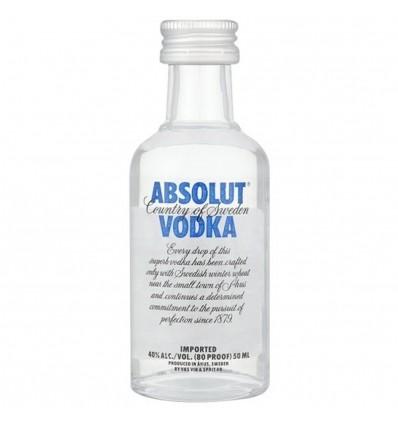 Absolut vodka Blue Miniatura 0,05l 40%