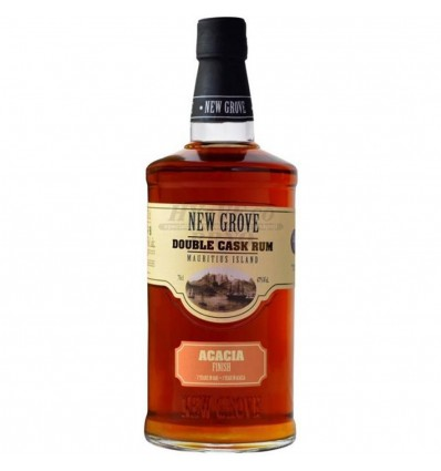 New Grove Double Cask Acacia Rum 0,7l 47%