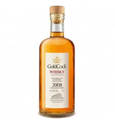 Gold Cock 2008 Single Grain Whisky 0,7l 49,2%