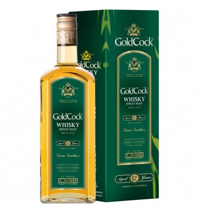 Gold Cock 12y Whisky 0,7l 43%