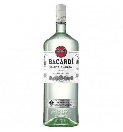 Bacardi Carta Blanca Superior White 1,5l 37,5%