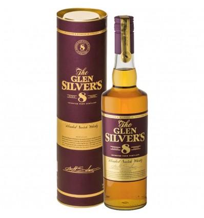 Glen Silvers 8y Whisky 0,7l 40%