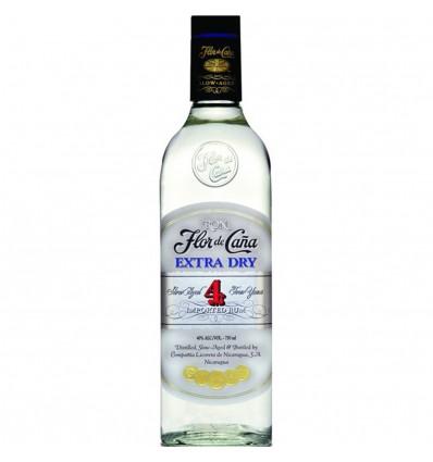 Flor de Cana Extra Dry Rum 4y 0,7l 40%