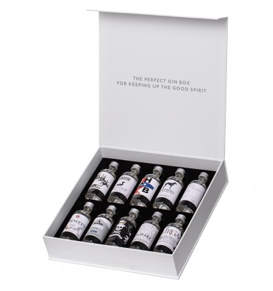 The Gin Box World Tour Edition 10 x 0,05l 42,9%