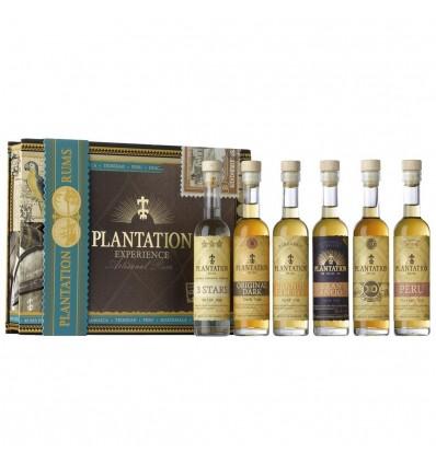 Plantation Rum set 6×0,1l 42% Degustační Sada