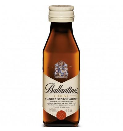 Ballantines Finest Whisky Miniatura 0,05l 40%