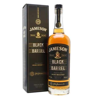 Jameson Irish Whiskey Black Barrel 0,7l 40%
