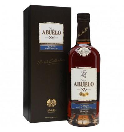 Ron Abuelo XV Tawny Cask Finish Rum 0,7l 40%