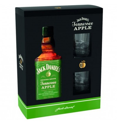 Jack Daniels Apple 0,7l 35% + 2 skleničky