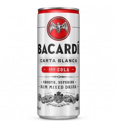 Bacardi & Cola 0,25l 5%