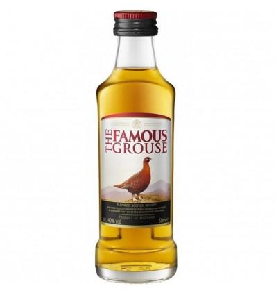 Famous Grouse Whisky Miniatura 0,05l 40%