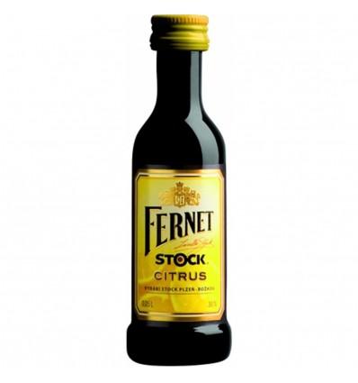 Fernet Stock Citrus Miniatura 0,05l 27%