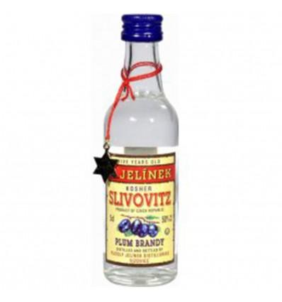 Slivovitz Kosher Miniatura R. Jelínek 0,05l 50%