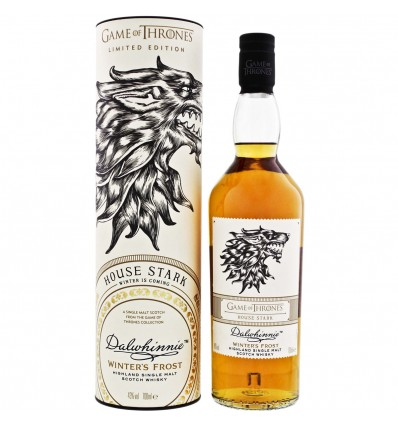 Dalwhinnie Winter's Frost Game of Thrones House Stark 0,7l 43%