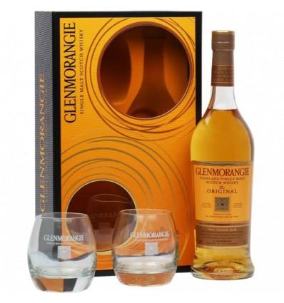 Glenmorangie 10y Whisky 0,7l + 2 skleničky