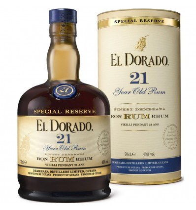 El Dorado Special Reserve 21y 0,7l 43%