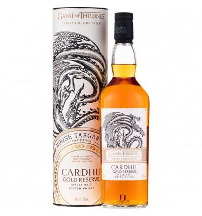 Game of Thrones House Targaryen - Cardhu Gold Reserve 0,7l 40%