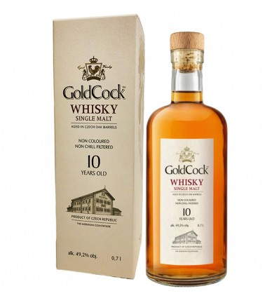 Gold Cock 10y Whisky 0,7l 49,2%
