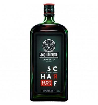 Jägermeister SCHARF Hot Ginger 0,7l 33%