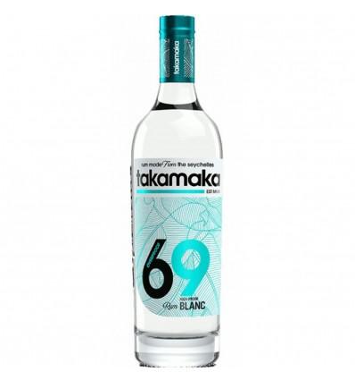 Takamaka 69 Overproof White 0,7l 69%