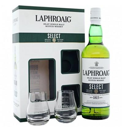 Laphroaig Select 0,7l 40% + 2 Skleničky