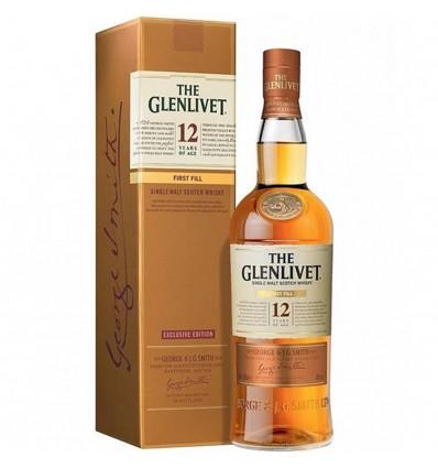 Glenlivet 12y First Fill Whisky 0,7l 40%
