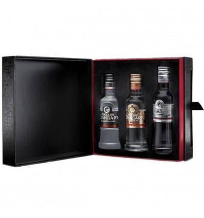 Vodka Russian Standard Sada Miniatur 3x 0,05l 40%