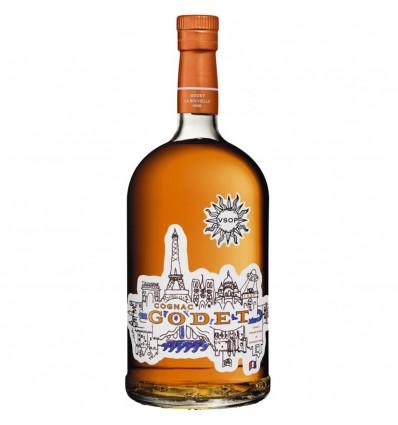 Godet VSOP Cognac 1l 40%