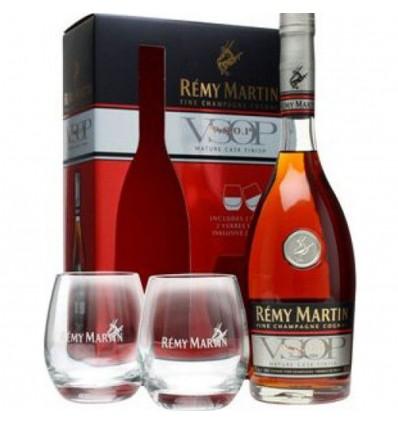 Rémy Martin VSOP Mature Cask Finish 0,7l 40% + 2 Skleničky