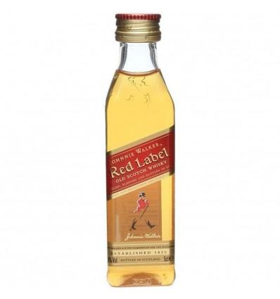 Johnnie Walker Red Label Miniatura 0,05l 40%