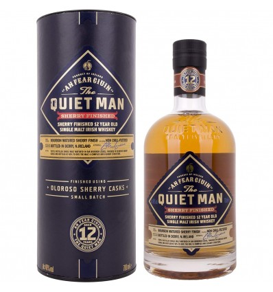 Quiet Man Whisky 12y Sherry Finish 0,7l 46%