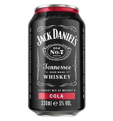 Jack Daniels & Cola 0,33l 5%